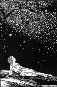 B & W line Dr. by Dorothy Lathrop