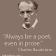 Be Drunk- Charles Baudelaire
