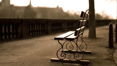 fancy-bench-in-sepia